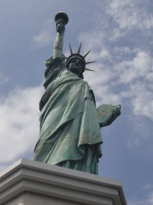 Fact: The Statue of Liberty has Greek feet.
